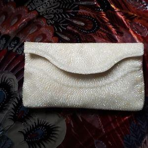 vintage RICHERE by Walborg beaded clutch purse